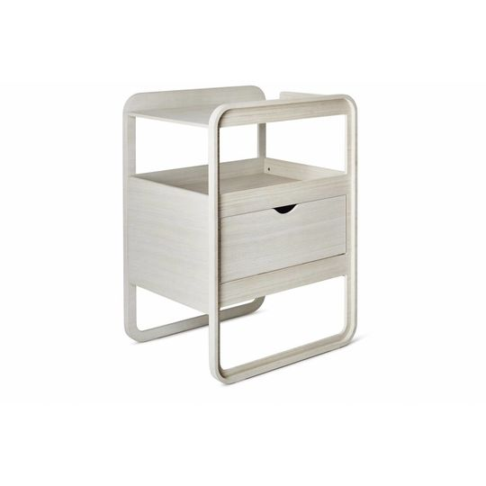 ollie | s | out commode milky white changer
