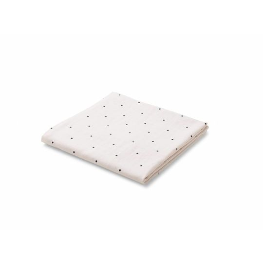 liewood molly swaddle classic dot sweet rose 120x120