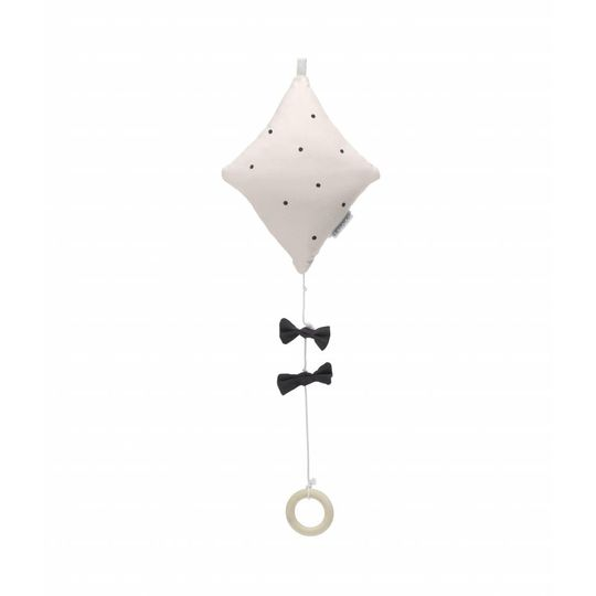 liewood alma music mobile kite classic dot soft pink