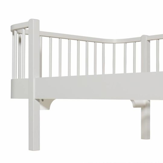 oliver furniture wood white day bed 90x200