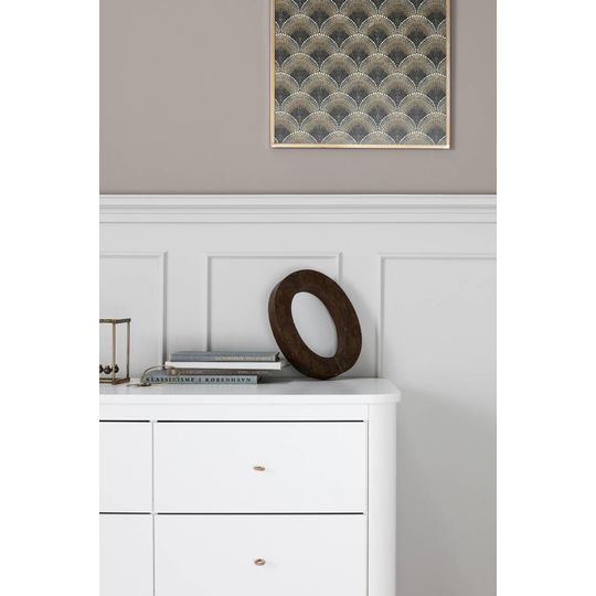oliver furniture wood cupboard 3 doors white