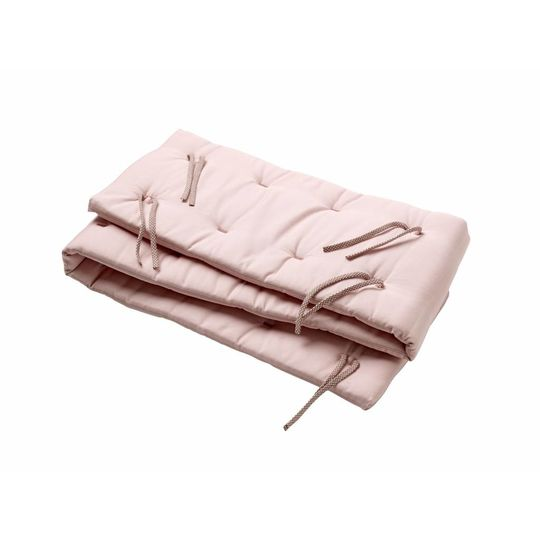 linea by leander bed bumper soft pink