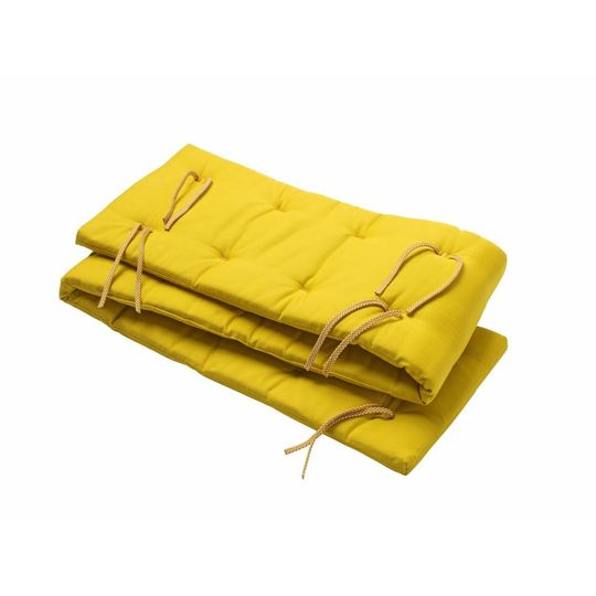 linea by leander bed bumper spicy yellow