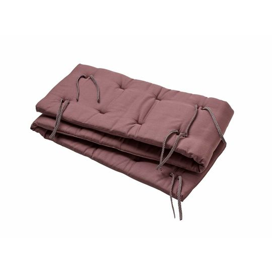 linea by leander bed bumper warm purple