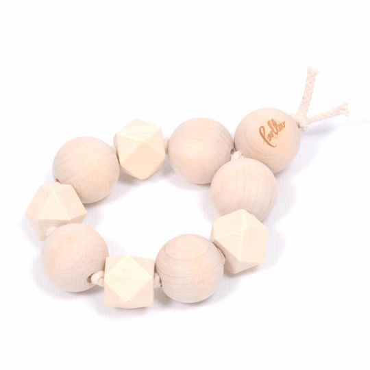 loullou wooden teething ring