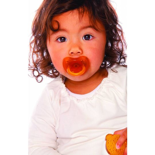 hevea star & moon pacifier orthodontic 3-36 months