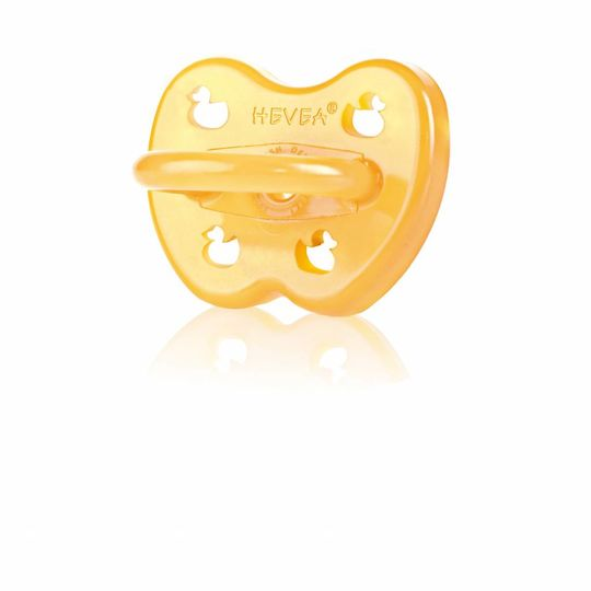 hevea duck pacifier symmetrical 0-3 months