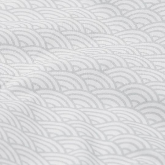 camcam copenhagen dollbed bedding grey wave