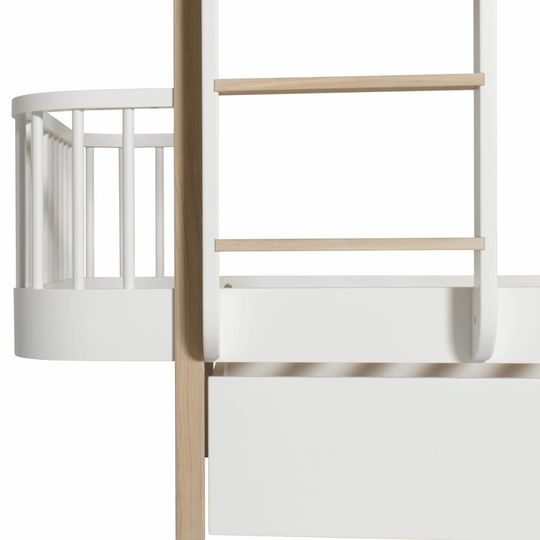 oliver furniture wood oak bunk bed