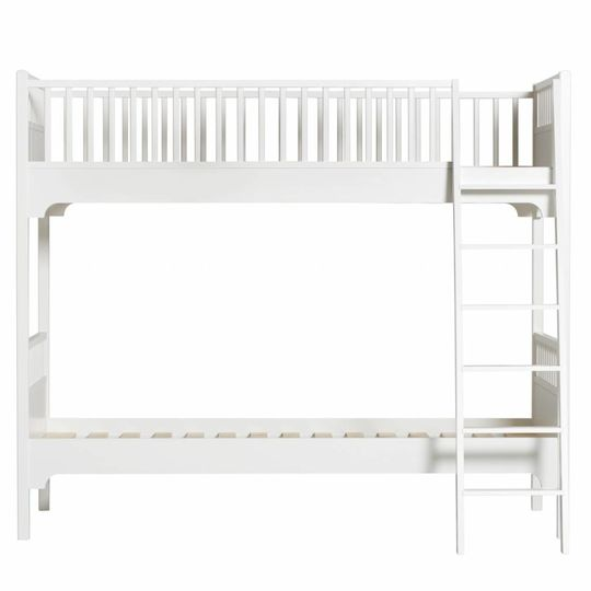 oliver furniture seaside stapelbed wit schuine trap