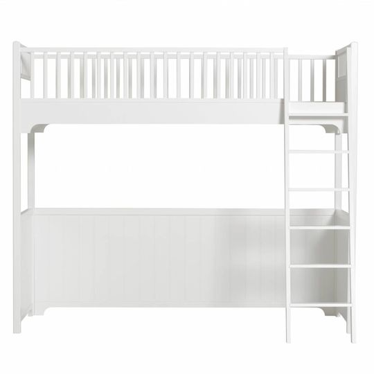 oliver furniture seaside hoogslaper wit