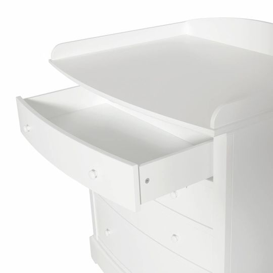 oliver furniture seaside commode curved front + nursery top