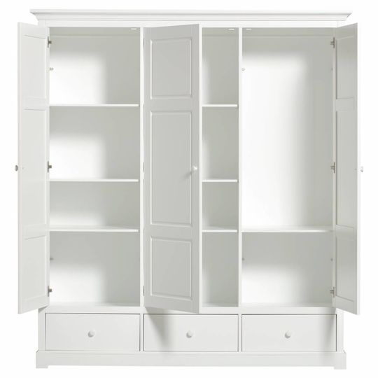 oliver furniture seaside wardrobe 3 doors