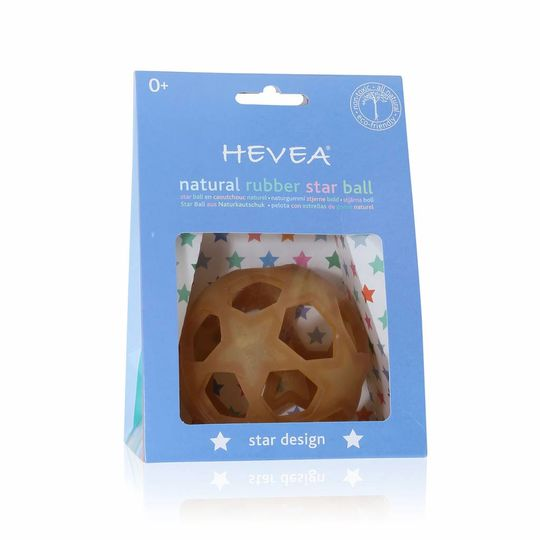 hevea star play ball natural