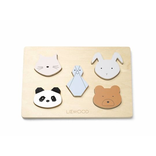 liewood wooden insert puzzle