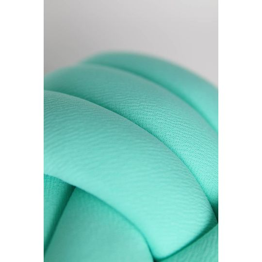 cozykidz knotball pillow mint