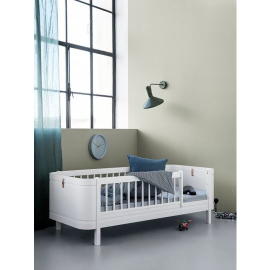 oliver furniture wood mini+ meegroei ledikant 0-9 wit