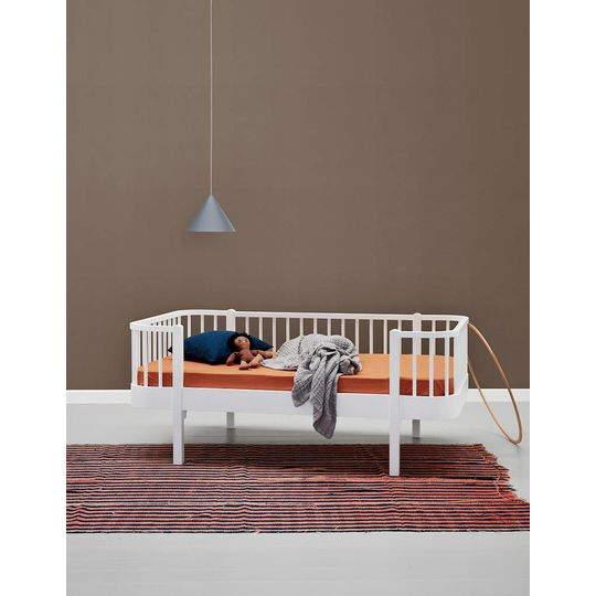 oliver furniture wood junior day bed wit 90x160
