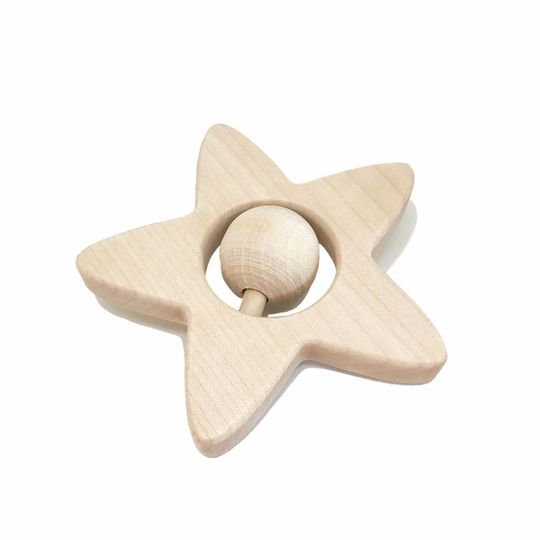 loullou rattle / teether star