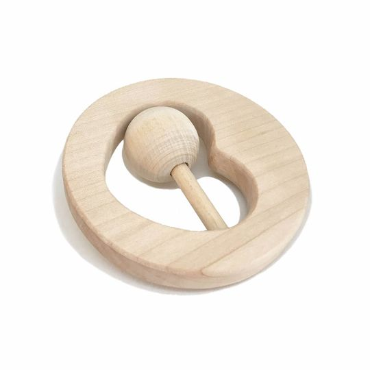 loullou rattle / teether moon