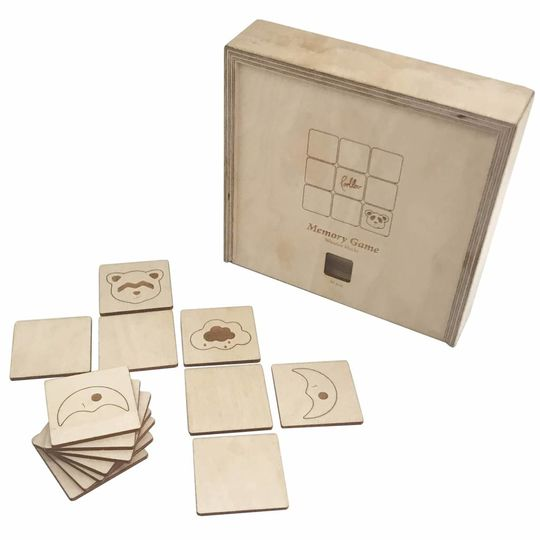 loullou wooden memory game