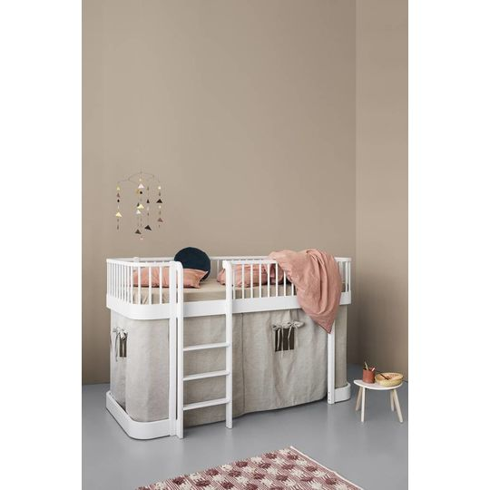 oliver furniture wood collection low loft bed wit