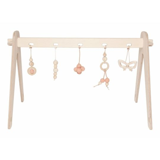 loullou 1st play babygym package deal rose