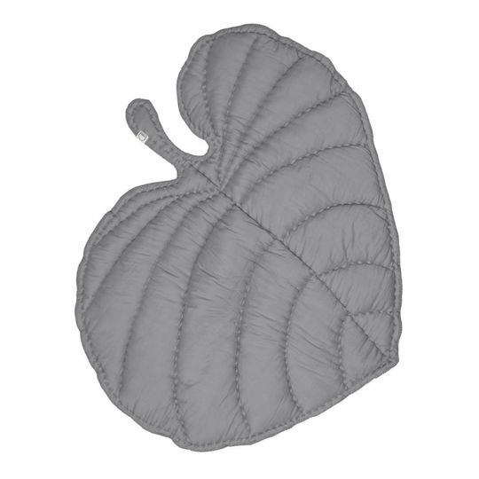 nofred leaf deken / speelkleed grijs