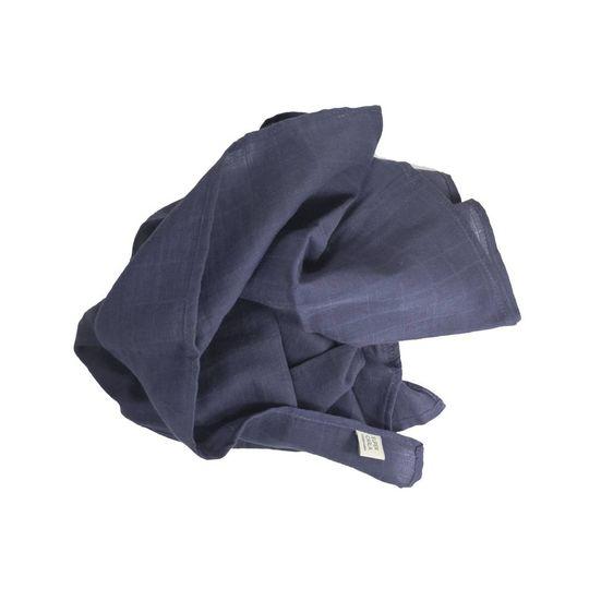 super carla swaddle blue
