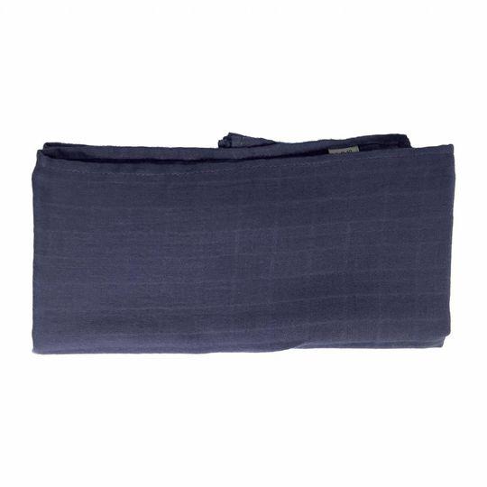 super carla muslin doek blauw 70x70