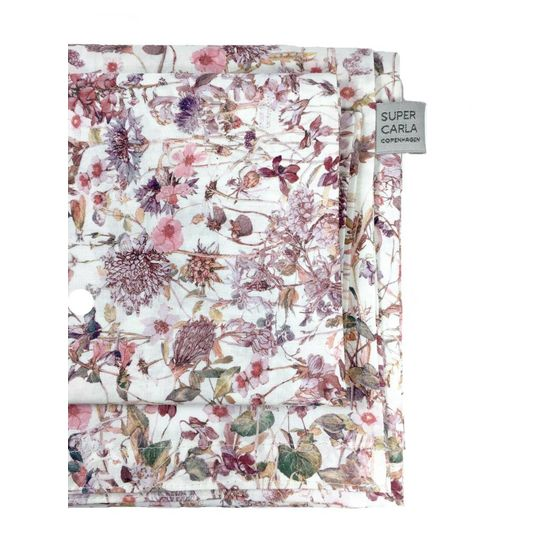 super carla duvet cover wild flowers rose baby 70x100