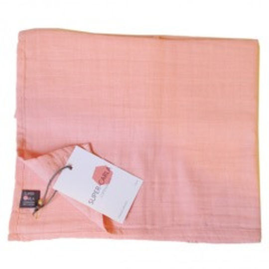 super carla muslin cloth rose