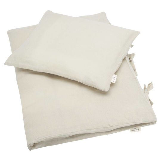 konges sløjd muslin duvet cover dust oat junior