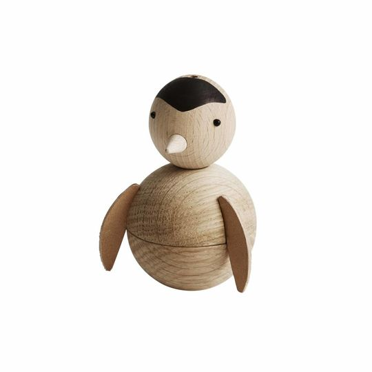OYOY pinguin nature wooden figure