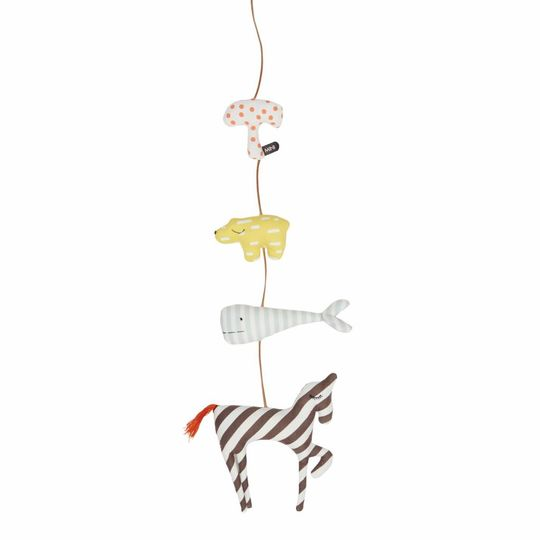 OYOY animals mobile string