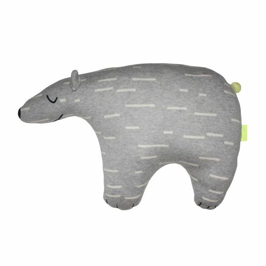 OYOY knut polar bear cushion