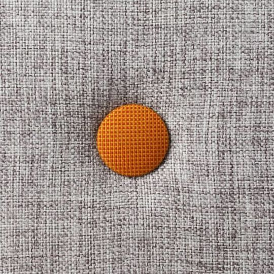 by klipklap KK 4 fold multi grey with orange buttons (100x100 cm)