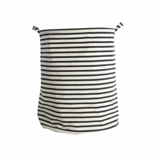 house doctor laundry bag / storage bag stripes Ø40cm