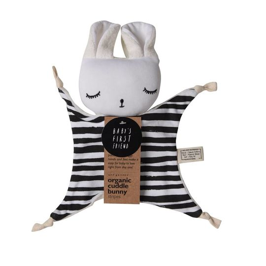 wee gallery wee gallery cuddle bunny stripes