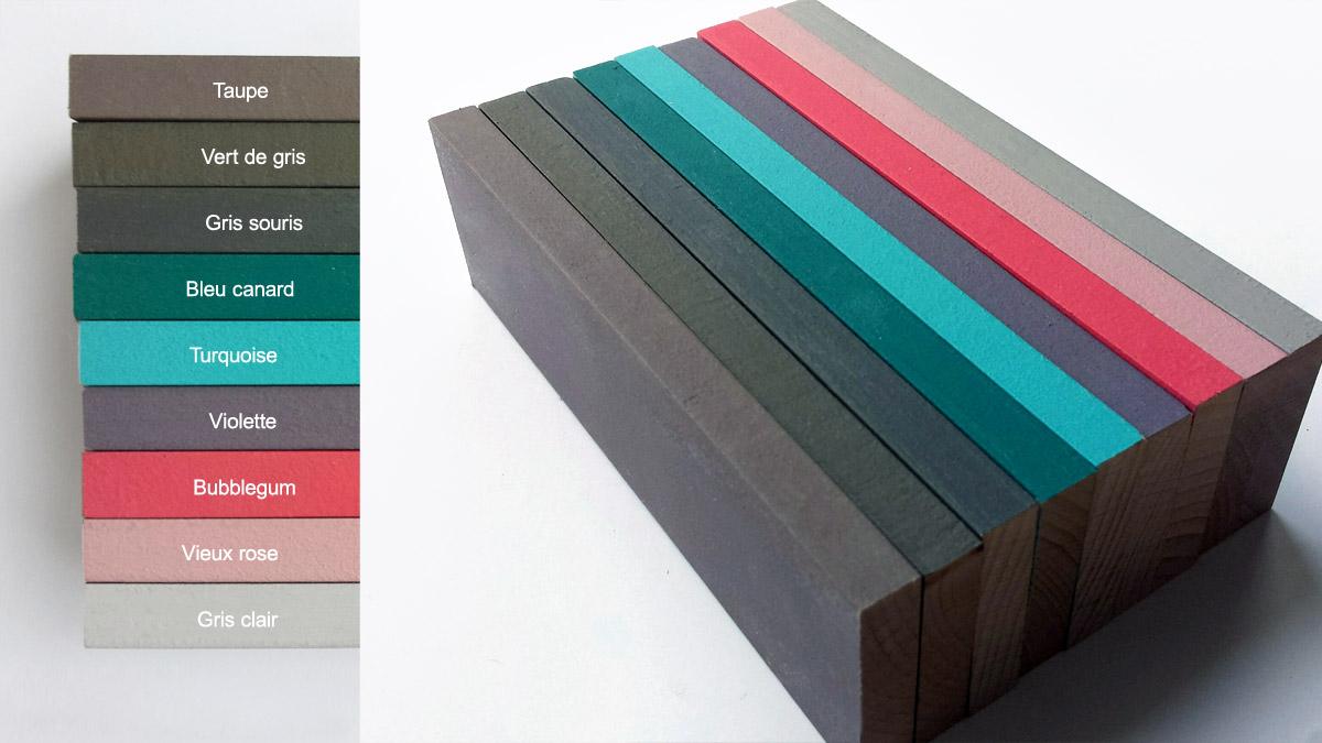 CozyKidz kleuren opties Laurette meubels