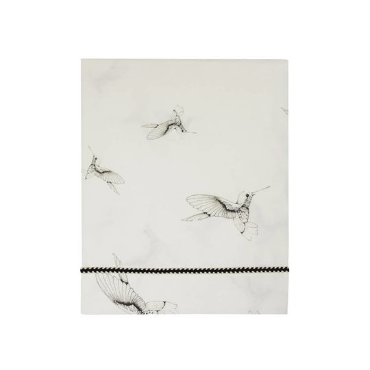 mies & co flat sheet cradle cloud dancers offwhite