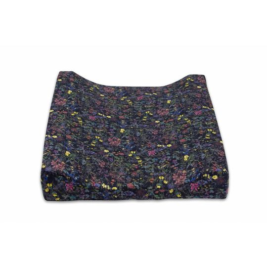 super carla cover for changing cushion wild flowers black