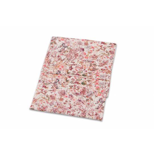 super carla cot sheet wild flowers rose 110x140
