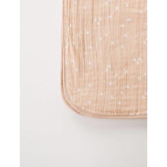 rylee + cru  muslin dekentje/quilt stardust print