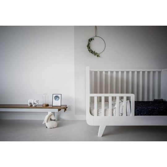 mies & co fitted sheet  cradle galaxy off white 40x80 cm