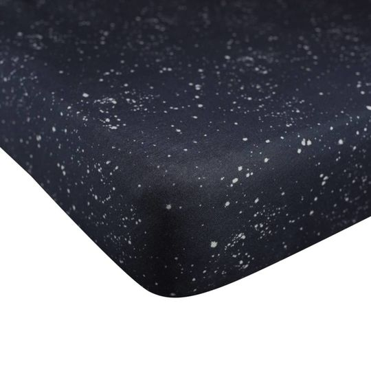 mies & co fitted sheet cradle galaxy parisian night 40x80 cm