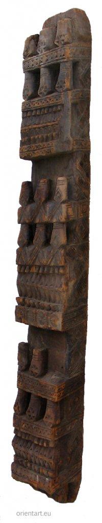 antike Säule Nuristan Nr-B