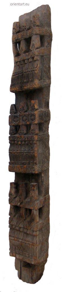 antike Säule Nuristan Nr-C
