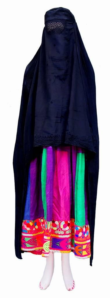 Burka schwarz (K)