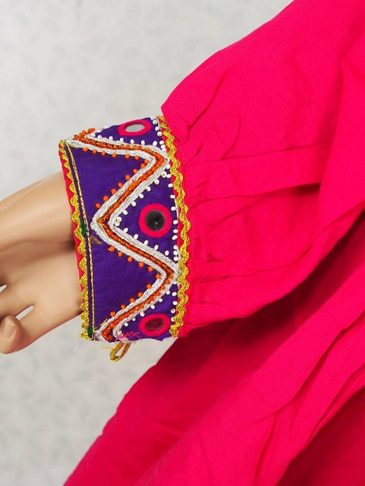Afghani Nomaden Kleid  Tracht Pink/3